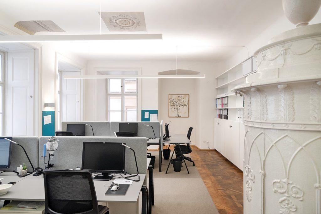 Kipferlhaus Schreibtisch Wien